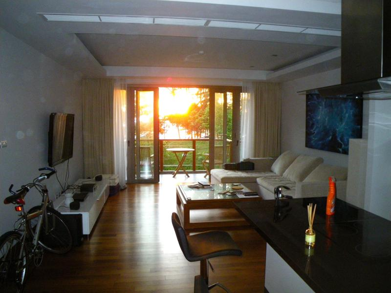 Living Area, Sunset View