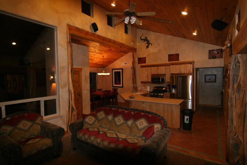 Most unique, loaded with extras with a Mountain view, unit in Rim Village.