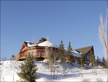 Exterior of Steamboat Home