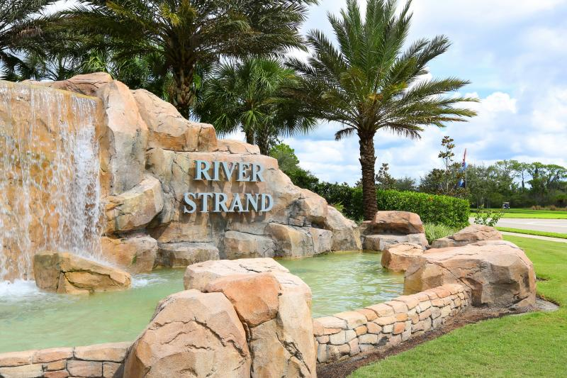 River Strand.  Gated, safe & secure