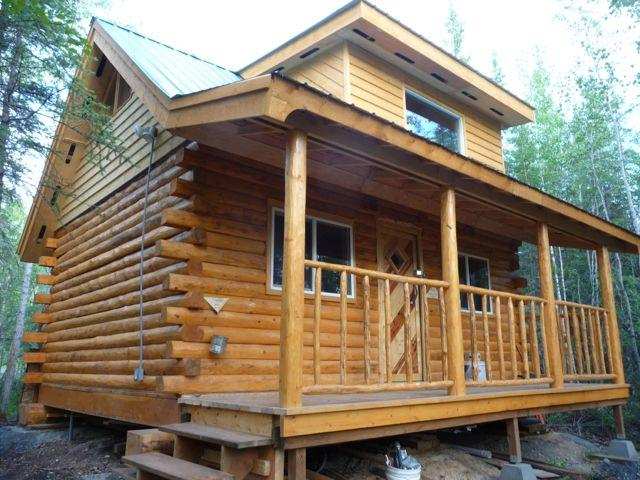 Cabin in the summer time