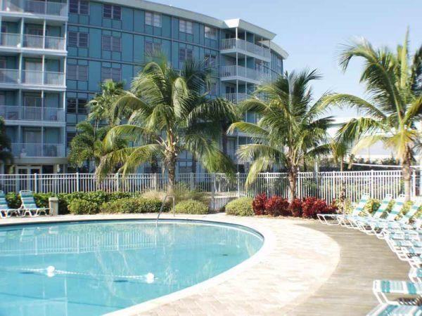 The elegant Wave condo building, south St. Pete by Skyway Bridge--near beaches!