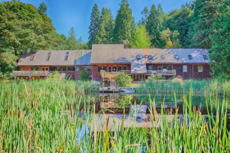 18 Acres with Pond, Large Deck, Hot Tub