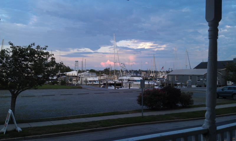 Mystic River at Sunset
