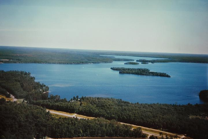 Trout Lake is 4000 acres of crystal blue water and 80% owned by the state