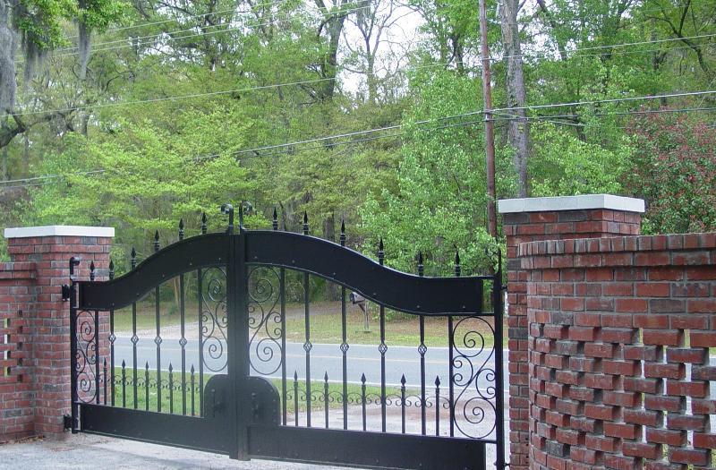 Entry Gates to property