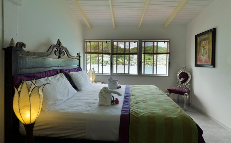 'Jack Sparrow' double guestroom with sea views