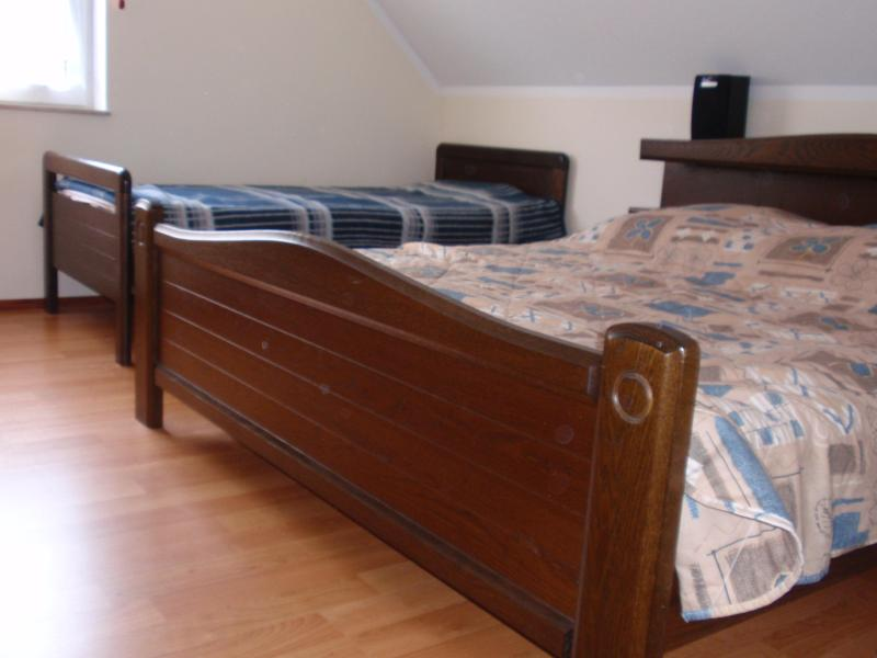 bedroom upstairs for 5 persons