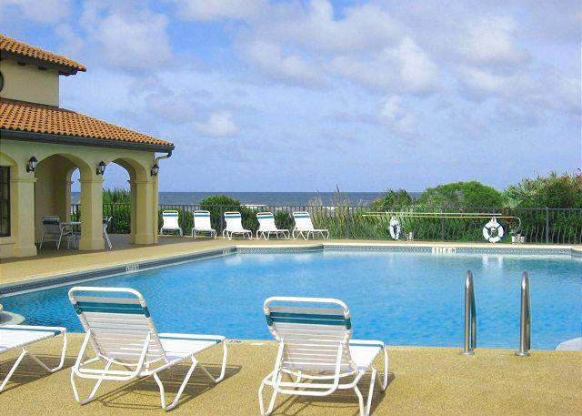 Relax in our beautiful ocean view pool