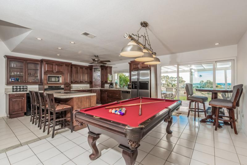 Great Room - Billiards, Kitchen & Dining All In One