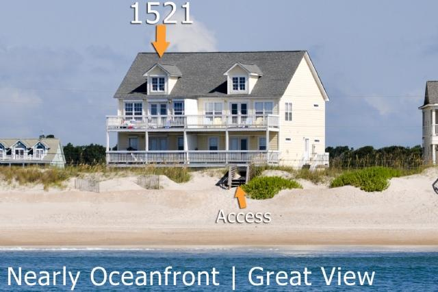 1521 New River Inlet Road | Unobstructed View