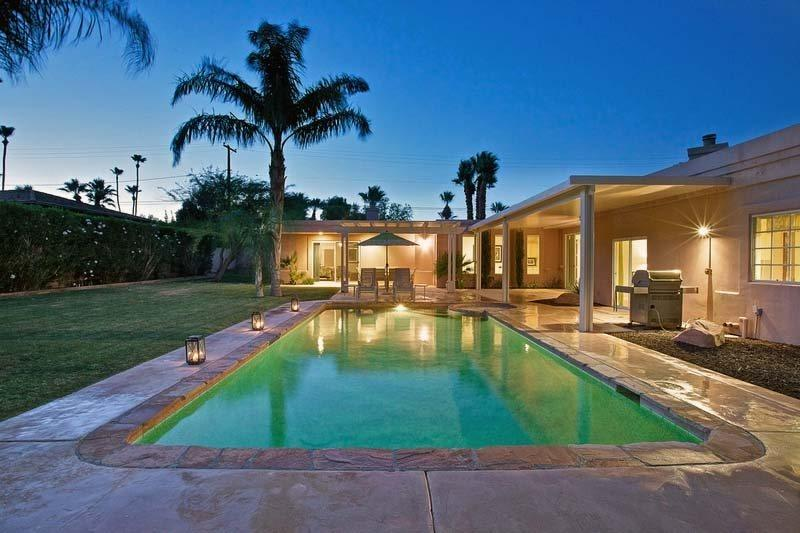 Private Backyard  with Pool  Spa