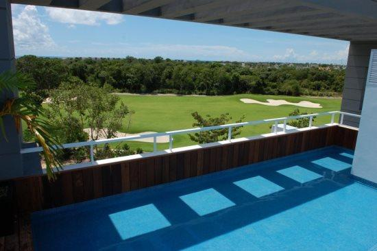 Nick Price Hole in One - Rooftop common area - Vacation rentals Playa del Carmen