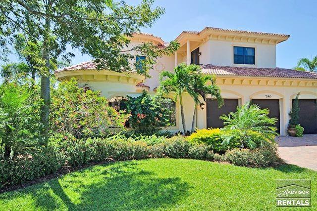 Spectacular celebrity mansion in Olde Naples, short walk to the beach - Image 1 - Naples - rentals
