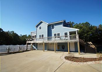 N319- KENT'S DREAM; A SOUNDSIDE LUXURY W/ POOL! - Image 1 - Nags Head - rentals