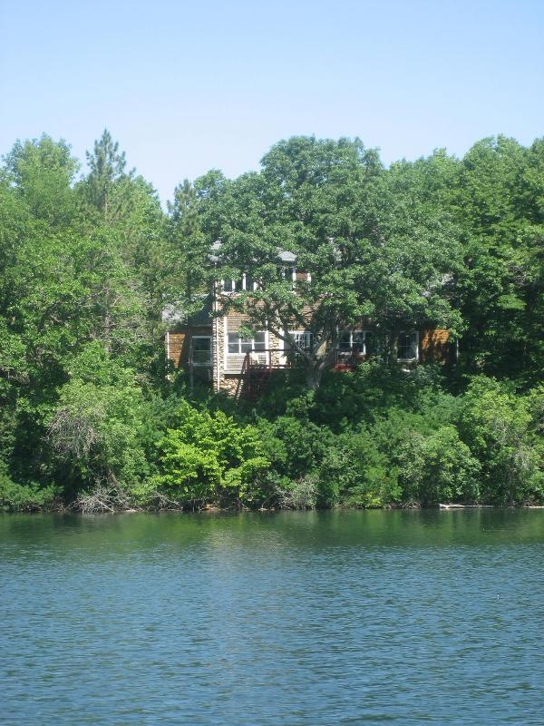 Bed and Breakfast--view from the lake