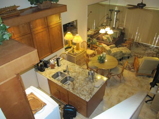 Brand new kitchen with granite & stainless steel.