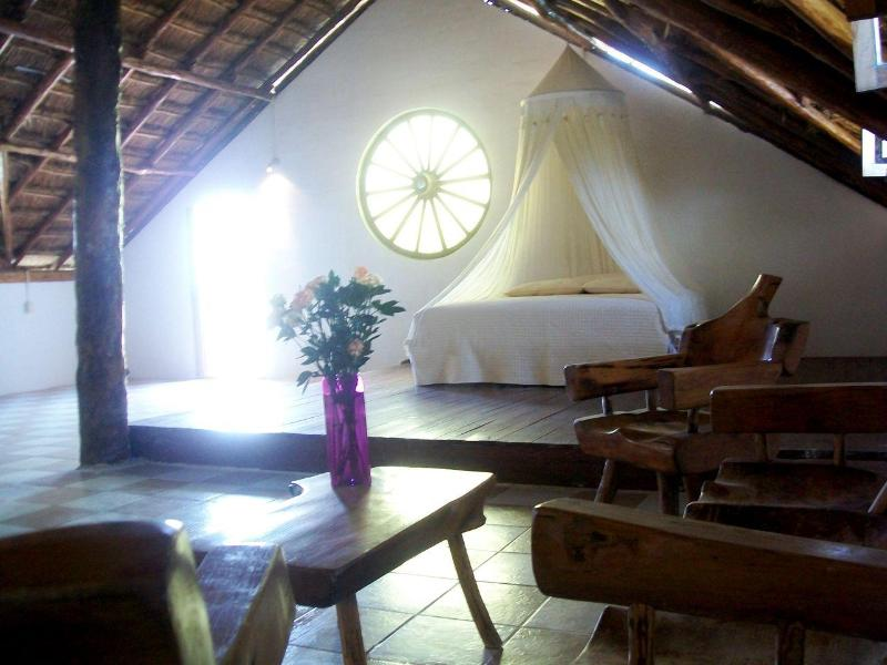 Palapa Penthouse with romantic kingsize bed - B&B Hacienda El Sol - Playa del Carmen - rentals