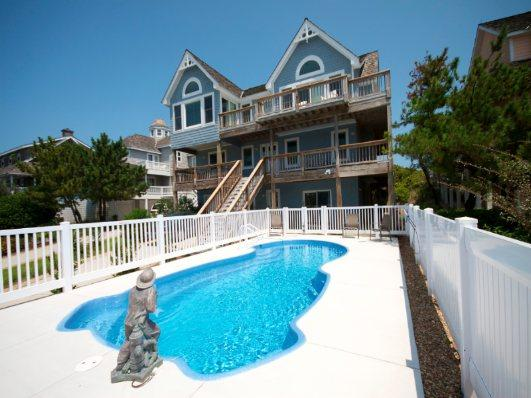 Private Pool in Front of Home - SS19: Shore's Fun - Nags Head - rentals
