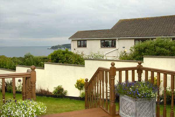 Decking and sea view