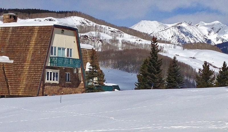 The Alpenglow Chalet is nestled in the pristine beauty of the Colorado Rockies.
