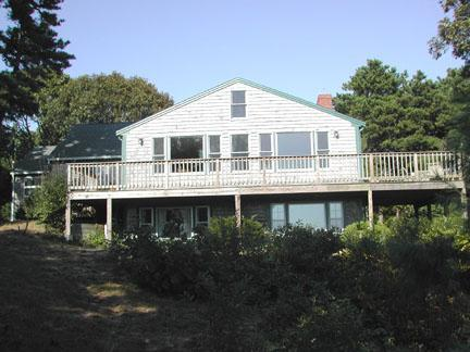 Looking up at Deck / Back of House