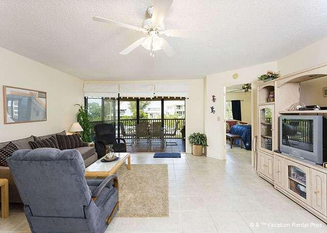 Fun awaits in our open, spacious, comfy living  area!