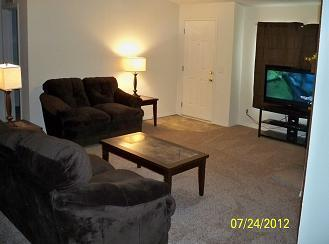 Living Room - Green Springs, LLC - Idaho City - rentals