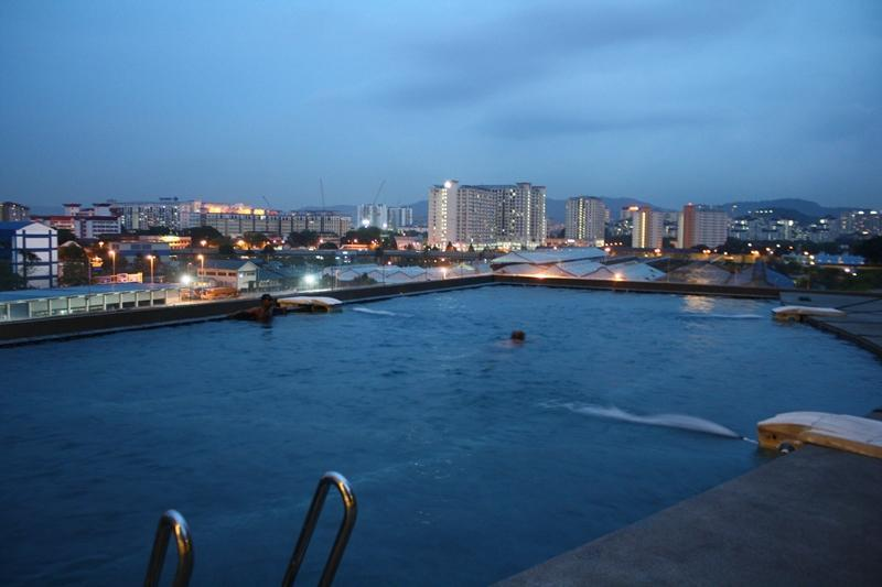 View Of KL Skyline From Swimming Pool