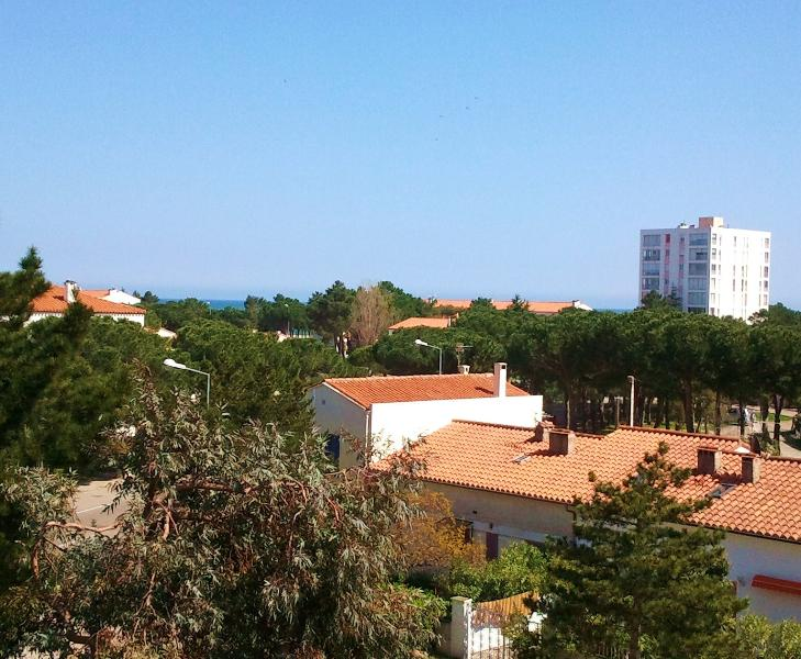 View toward sea from balcony - L'Etoile de Mer - Argeles-sur-Mer - rentals