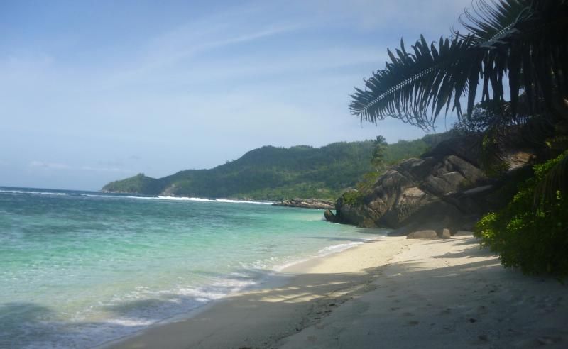 Anse Forbans beach - considered one of the best beaches in the Seychelles