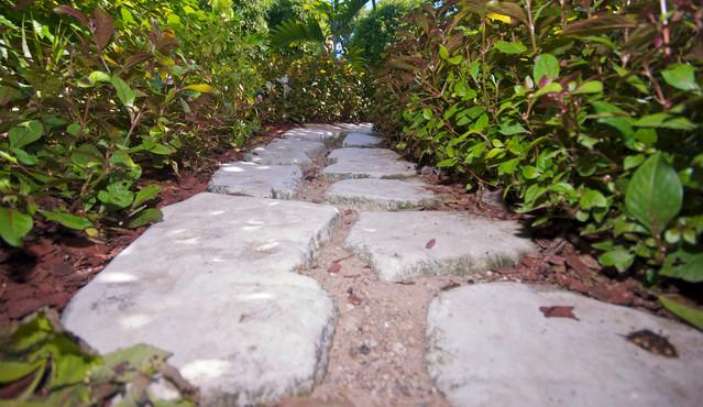 Lovely garden pathway takes you home