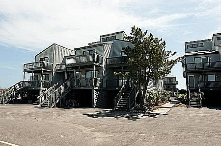 Shipwatch 212 Exterior - Shipwatch 212, 1928 New River Inlet Rd, North Topsail Beach, NC, Water View - Surf City - rentals
