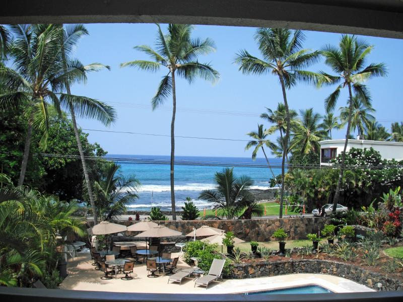 Amazing Ocean View from the Condo and Lanai