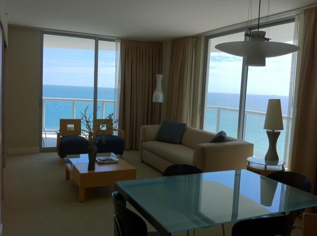 ocean front apartment - 2 bedrooms apt Marenas Ocean view or Ocean front - Sunny Isles - rentals