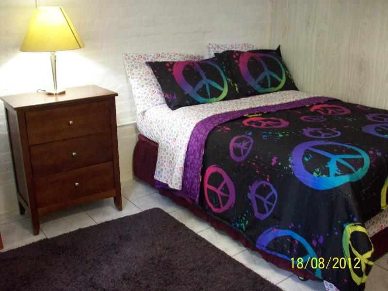 Bedroom 1, Full Size Bed, 1. Twin Bed. Sleep 3 Guest