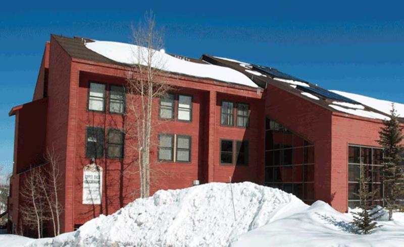 Exterior of Complex. Amazing Snow in the winter!