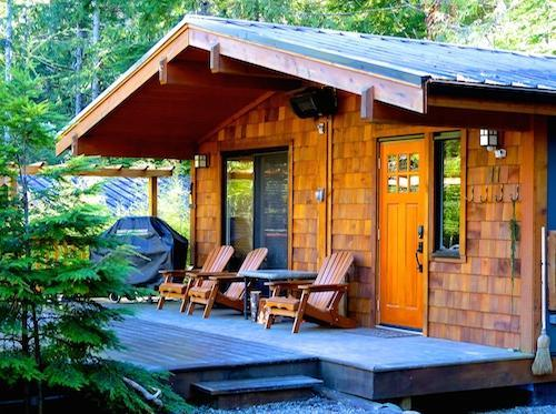 Port Renfrew cozy cottage rental