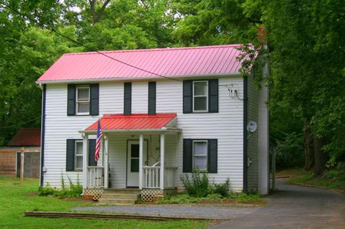 The Jubal Early Cottage at Historic Rosemont Manor Estate