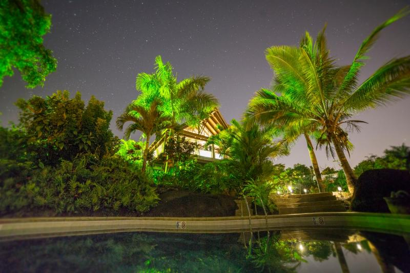 El Yunque Chalet at Night