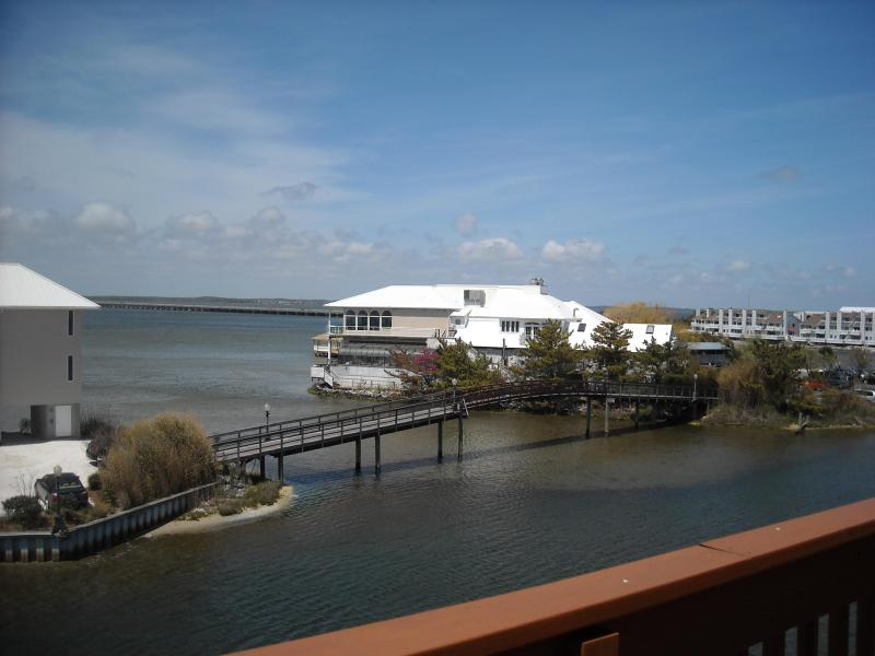 view from the balcony....overlooking Fager's Island