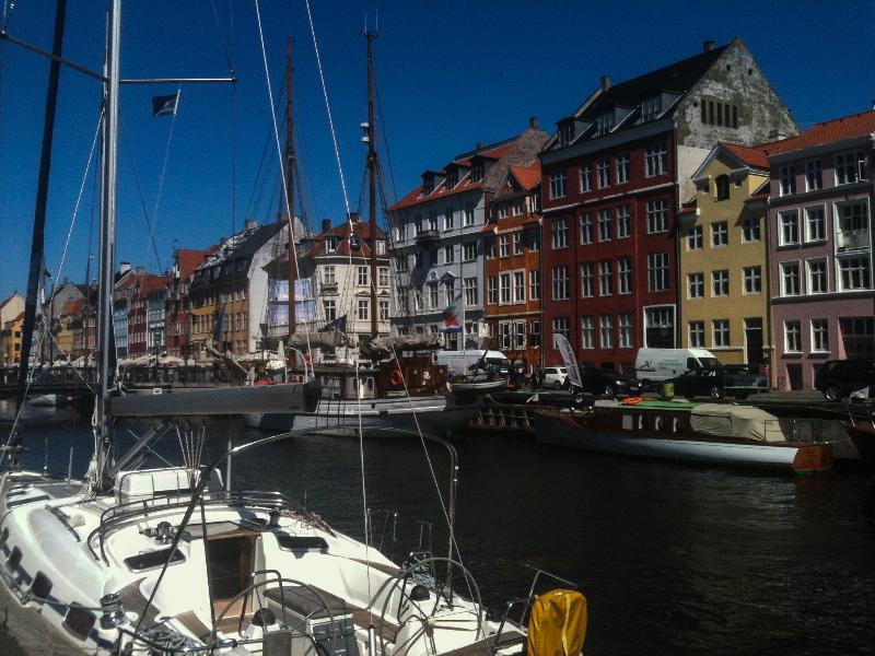 Nyhavn view from apartment