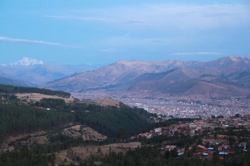 View over Cusco (from guesthouse)