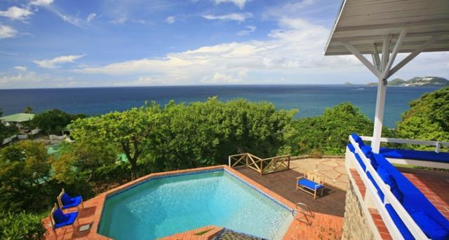 Sea Cliff at Vigie, Saint Lucia - Ocean View, Walk To Beach, Two Pools With Waterfall Feature