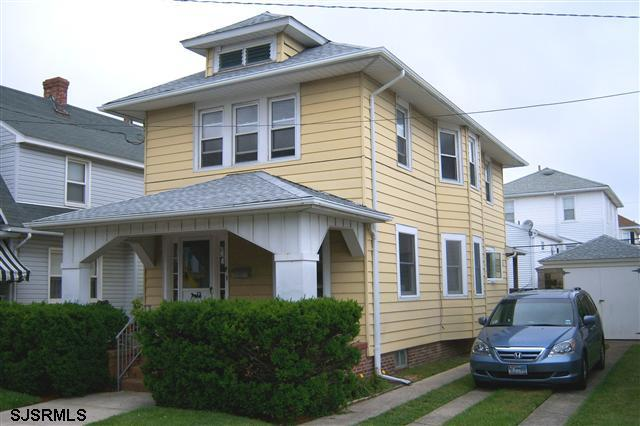 Front of House with Porch & Off-Street Parking