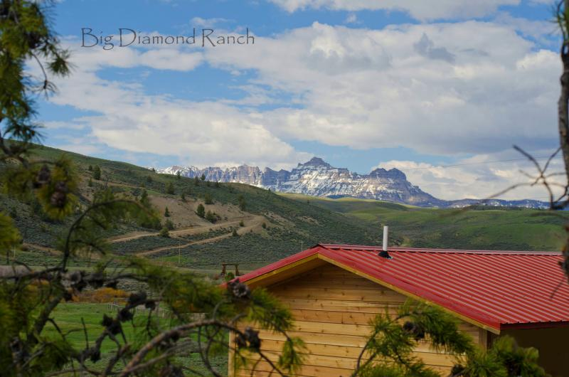 A mountain cabin at almost 8000 feet altitude