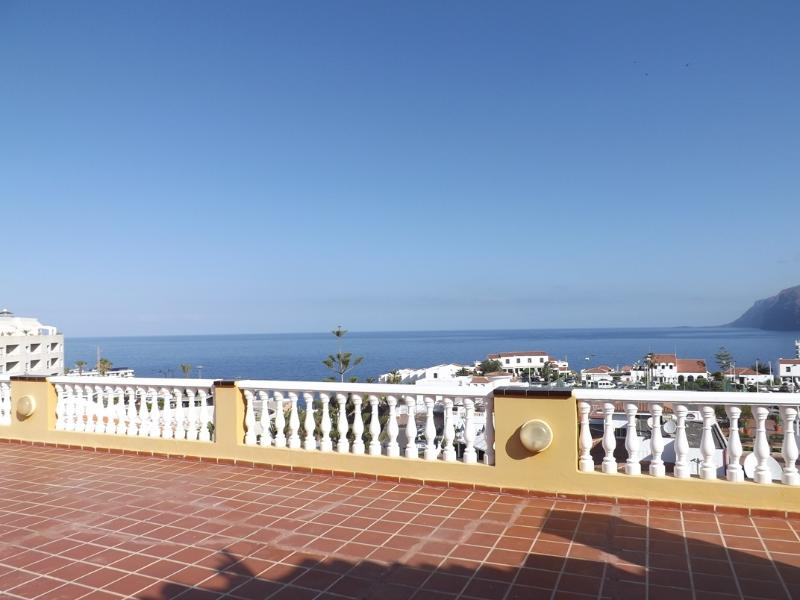 STUNNING sea views from the El Marques Palace sun terrace