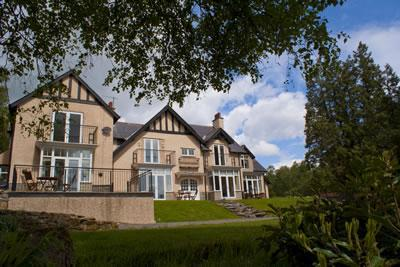 The front of Westcliffe house - Stay in Luxury at Cheviot View in Westcliffe House - Northumberland - rentals
