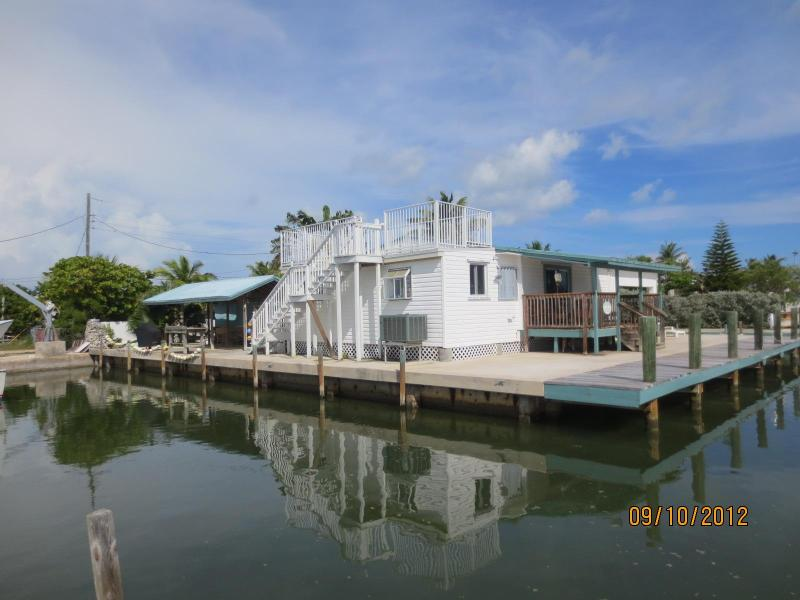 Conch House facing from Florida Bay