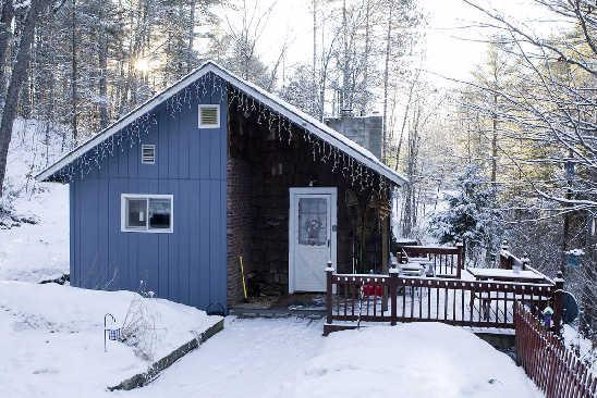 Snowed in at Cozy Cabin - Cozy White Mountain Cabin with Hot Tub & Fireplace - Lisbon - rentals